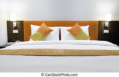 ホテル, ベッド