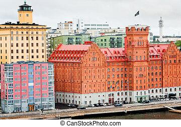 ホテル, 中に, ストックホルム, スウェーデン