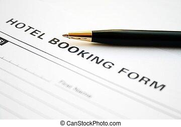 ホテル, 予約, 形態