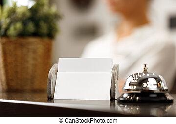ホテル, 反対の鐘, サービス, フロント