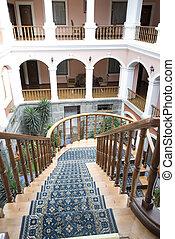 ホテル, 古い, quito, エクアドル, クラシック