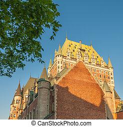 ホテル, 威厳, de, frontenac, ケベック, canada.