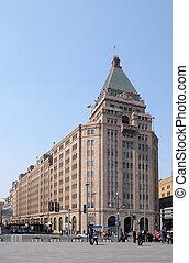ホテル, 建物, 北中国, no.20, bund, 上海, 平和