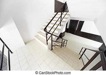 ホテル, 現代, 階段