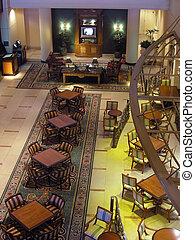 ホテル, 贅沢, レストラン