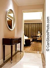 ホテル, 贅沢, 寝室