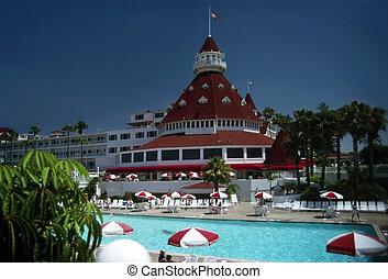ホテル, del, coronado