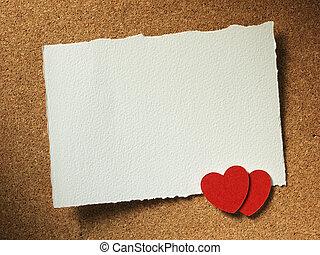 ホリデー, カード, ∥で∥, 心