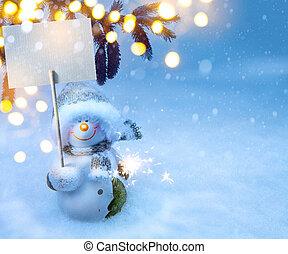 ホリデー, クリスマス, 背景, 芸術