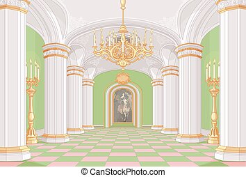 ホール, 宮殿