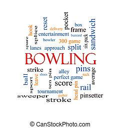 ボウリング, 単語, 雲, 概念