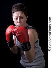 ボクサー, 女性