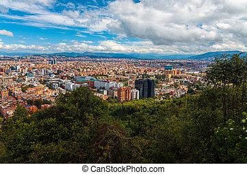 ボゴタ, コロンビア, 都市の景観