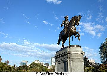 ボストン, ジョージ・ワシントン彫像