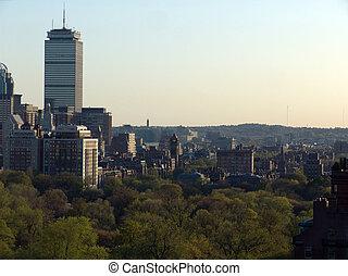 ボストン, 午後, スカイライン