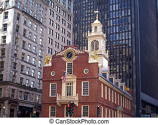 ボストン, 古い州会議事堂