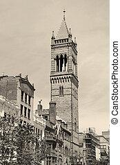 ボストン, 古い, 南, 教会