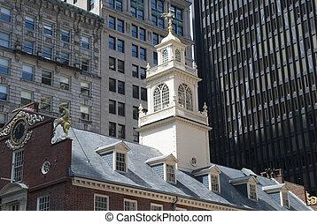 ボストン, 歴史的
