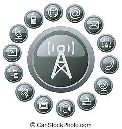 ボタン, コミュニケーション