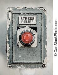 ボタン, ストレス軽減