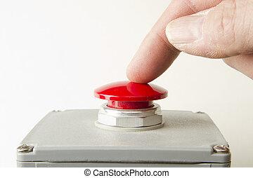 ボタン, パニック