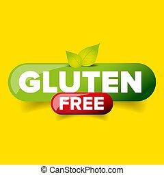 ボタン, ベクトル, gluten, 無料で