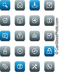 ボタン, マット, 型板, インターネット