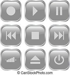 ボタン, マルチメディア