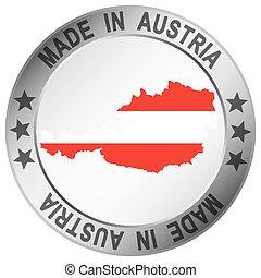 ボタン, 作られた, オーストリア