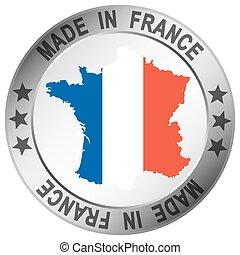 ボタン, 作られた, フランス