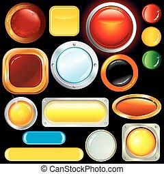 ボタン, 分類される