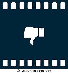 ボタン, 嫌悪, のように