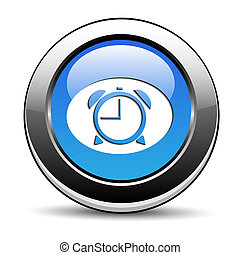 ボタン, 時計
