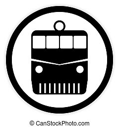 ボタン, 機関車, white.