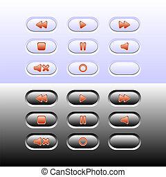 ボタン, 網