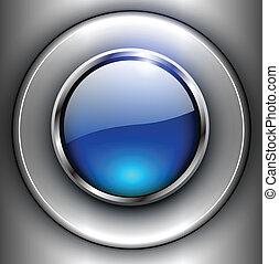 ボタン, 背景, 3d