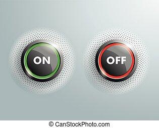 ボタン, 2, 離れて, sh