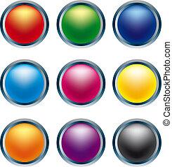 ボタン, 3d