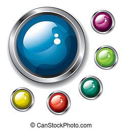 ボタン, (vector)