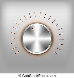 ボリューム, ボタン