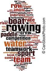 ボート競技, 単語, 雲