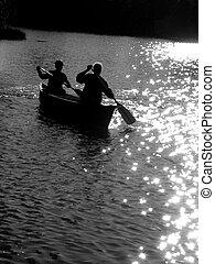 ボート競技, 2人の人々