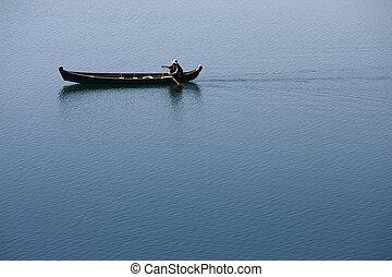 ボート競技, wherry, 人々