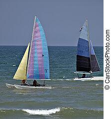 ボート, 帆