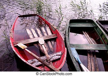 ボート, 水, フルである