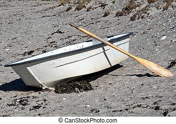 ボート, 浜