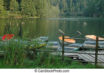 ボート, 湖