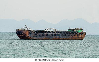 ボート, 砂の 海, てんま船