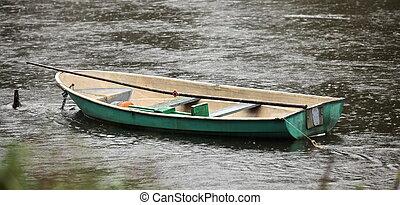ボート, 雨