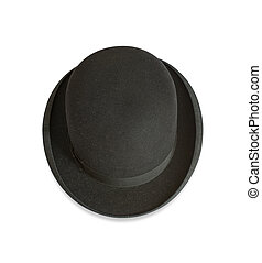 ボーリング競技者帽子, の上